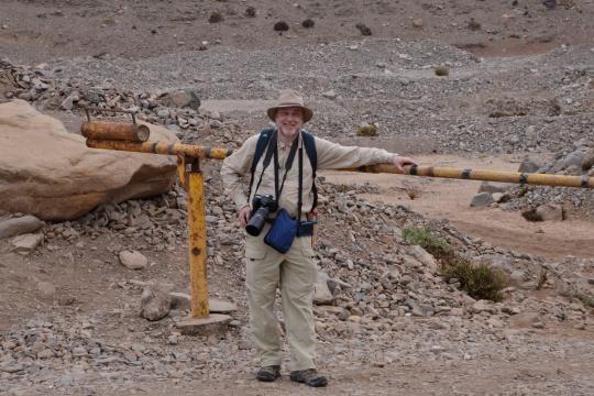 S2921 Jonathan, about to start the hike of a life time - Quebrada San Ramon