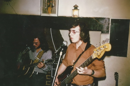 Steve Williams at Ranmore Arms 1973